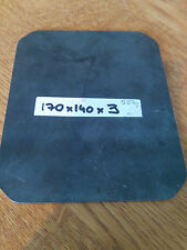 3mm Mild Steel Sheet Plate  170x140x3 ***Price Drop £3.99 to  £2.99**