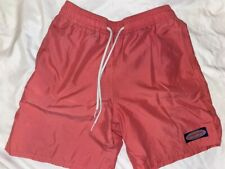 New ListingVineyard Vines boys pink salmon swim trunks size small 8 10