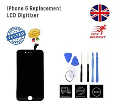 New iPhone 6 Black LCD Screen Replacement Touch Digitizer UK Stock with tools