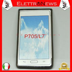 Custodia cover tpu per LG P705 L7 Fumè