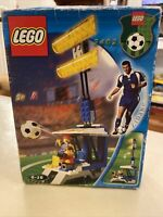 Introvabile!!!! LEGO Sports Calcio Grandstand con le luci # 3402 NUOVO Zidane