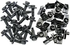 "AMC Body Bolts & U-nut Clips- 5/16-18 x 1-3/16"" Long- 1/2"" Hex- 40 pcs- #375F"