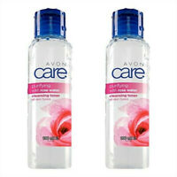 2 x Avon Care Purifying With Rosewater Cleansing Toner 100ml // All Skin Types