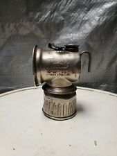 Vintage Justrite Carbide Coal Miner Light Ever Feed Pat May 7 1912