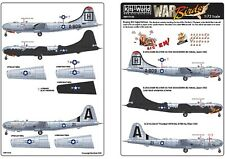 "NEW 1:72 Kits World Decals 72133 Boeing B-29A Superfortress ""SIC' EM"" & Thumper"