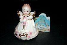 "Vintage Applause Josef Original Birthday Girls Pocelain Collectibles ""New Baby"""