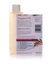 100ml (2x50ml) 100% Pure Moroccan Argan Oil Organic Body/Hair/Skin