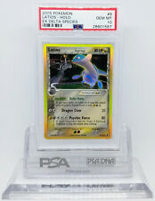 Pokemon EX DELTA SPECIES LATIOS #9 HOLO FOIL RARE CARD PSA 10 GEM MINT *