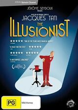 The Illusionist - Sylvain Chomet NEW R4 DVD