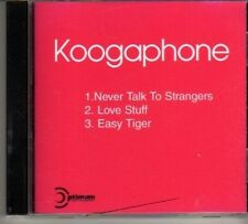 (DP18) Koogaphone, Never Talk To Strangers  - DJ CD