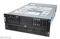 HP ProLiant DL580 G5 24 XEON CORES - 4 x 6-CORE 2.4GHz large 256MB Ram Server