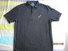 Nautica Classic Pique Men Black Collared T-Shirt (XL) 1pcs