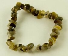 Bracelet Chip Botswana Agate Elasticated 7 Inch