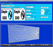 Simple Art (3 Axis CNC Machine Programming Software) Convert Pictures to G-Code