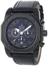 Bulova Men's 98B151 Marine Star Black on Black Color Scheme Watch  NEW!!!!!!
