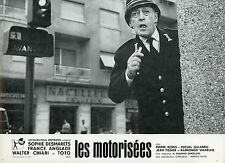 TOTO LE MOTORIZZATE LES MOTORISEES 1963 VINTAGE PHOTO LOBBY CARD N°5
