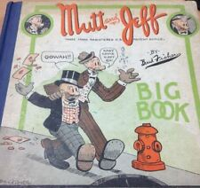 MUTT AND JEFF BIG BOOK, Fisher, Bud, (1926) Presumed first edition; hardcover