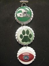 """1"""" Bottle Cap Image R/View Mirror ~ Handcrafted ~ **Gift Idea ~ Bobcats"""