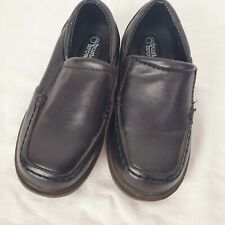 Buster Brown Boys Black Slip On Loafer Dress Shoes Wedding Party Baby Size 6