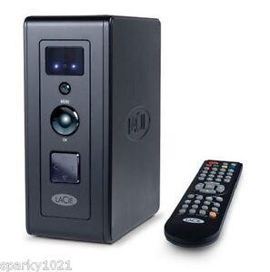 LaCie LaCinema Premier 301814AR 500 GB USB 2.0 Multimedia Hard Drive (Black)NEW