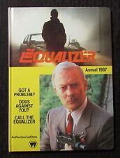 1987 THE EQUILIZER Annual VG/FN 5.0 UK HC - Unclipped - TV Tie-In