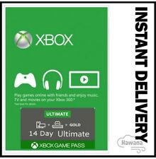 Xbox Live Gold + Game Pass (Ultimate) 14 Day 2 Weeks Trial Code