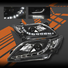Black LED DRL Projector Head Lights for TOYOTA CAMRY 06-09 include TRD Sportivo