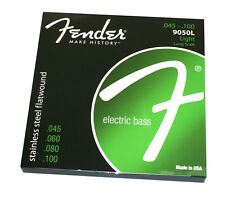 Fender 9050L Stainless Flatwound Bass Strings .045-.100 Long Scale 073-9050-403