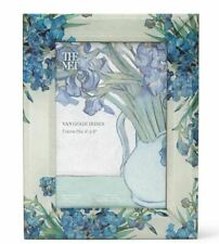 """METROPOLITAN MUSEUM OF ART, VAN GOGH """"IRISES"""" GLASS PICTURE FRAME, NEW WITH TAGS"""
