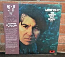 LINK WRAY - Be What You Want To, Limited RSD BLACK VINYL LP New & Sealed!