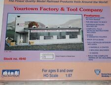 Ho Scale IHC Yourtown Factory & Tool Company Building New & Sealed  4940