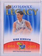 2013 Upper Deck Kansas Jayhawk Legacy #JL25 Kirk Hinrich Mint Jayawks KU SP