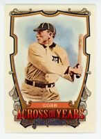 2013 Topps Allen Ginter #ATY-TC TY COBB Detroit Tigers HOF ACROSS THE YEARS