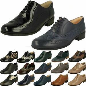 Ladies Clarks Brogue Shoes Hamble Oak