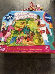 Princess Kingdom 3D Puzzle 3+ Complete