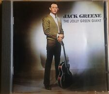 """JACK GREENE """"JOLLY GREEN GIANT"""" 1997 EDSEL RECORDINGS HARD TO FIND DELETED CD"""