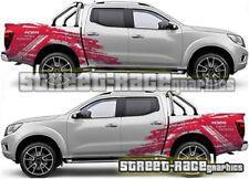 026 Rally raid Fits Nissan Navara grunge decals vinyl graphics stickers