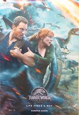 JURASSIC WORLD 2: FALLEN KINGDOM -Orig.US Kinoplakat/Filmposter 2.Teaser/gerollt