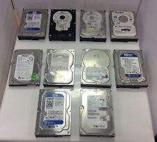 """10 x 250GB 3.5"""" Hard Drive - Mixed Brands ** TESTED WORKING ** DATA DESTROYED **"""