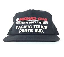 Midland Grau - Heavy Duty Systems - Pacific Truck Parts Trucker Hat SnapBack Men