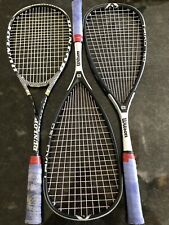 TWO used Wilson Triad 150 and 1 used Dunlop Tour 3D Revelation Ti Racquets.