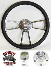 "1965-1969 Fairlane Galaxie 500 steering wheel FORD 13 3/4"" POLISHED BILLET"