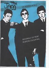 JAM POSTER.  Paul Weller, The Modern World, Mod, Punk.