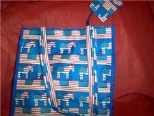 Patriotic Democratic Donkey Tote Bag