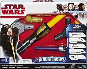 STAR WARS REY JEDI KNIGHT LIGHTSABER BLADEBUILDERS BRAND NEW 6+