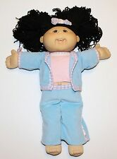 Cabbage Patch Kids Girl Doll Asian 2004 Black Hair Brown Eyes Teeth Play Along