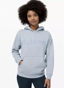 NWT! Lululemon All Yours Hoodie Graphic Chambray size 6