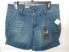 NWT - EARL ladies Jean shorts w/double button - sz 10P - MSRP $44.00