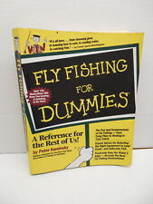 Fly Fishing For Dummies Guide Book Rods Reels Tackle Hooks Nets Fundamentals