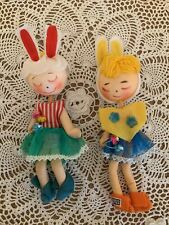 Vintage Japan Pixie Easter Bunny